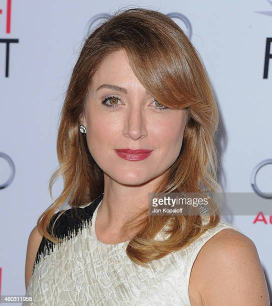 Sasha Alexander arrives at the AFI FEST 2014 Presented By Audi A Special Tribute To Sophia Loren at Dolby Theatre on November 12 2014 in Hollywood...