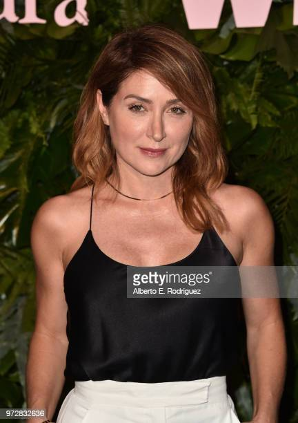 Sasha Alexander attends Max Mara WIF Face Of The Future at Chateau Marmont on June 12 2018 in Los Angeles California
