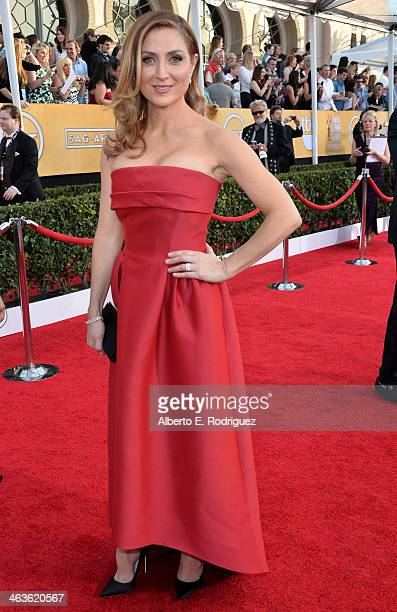 Sasha Alexander attends the 20th Annual Screen Actors Guild Awards at The Shrine Auditorium on January 18 2014 in Los Angeles California