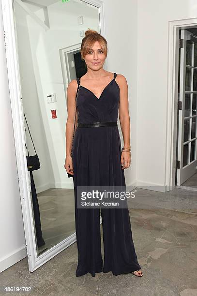 Sasha Alexander attends The A List 15th Anniversary Party on September 1 2015 in Beverly Hills California