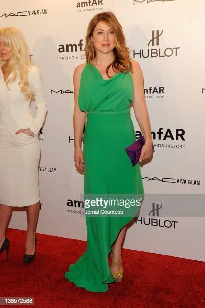 Sasha Alexander attends the amfAR New York Gala To Kick Off Fall 2012 Fashion Week at Cipriani Wall Street on February 8 2012 in New York City