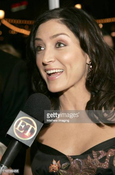 Sasha Alexander during 31st Annual People's Choice Awards ET and The Insider Arrivals at Pasadena Civic Auditorium in Pasadena California United...