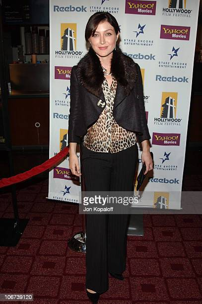 Sasha Alexander during ' A Love Song For Bobby Long ' Premiere at The Hollywood Film Festival's Closing Night Gala at The Arc Light Theater in Los...