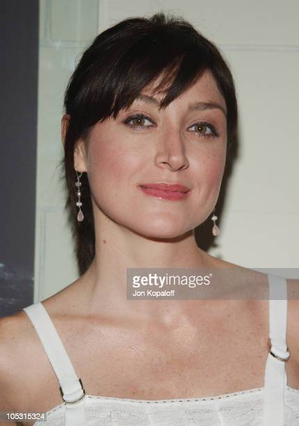 Sasha Alexander during Christian Dior Launches New Collection D'TRICK at Argyle Hotel in West Hollywood California United States