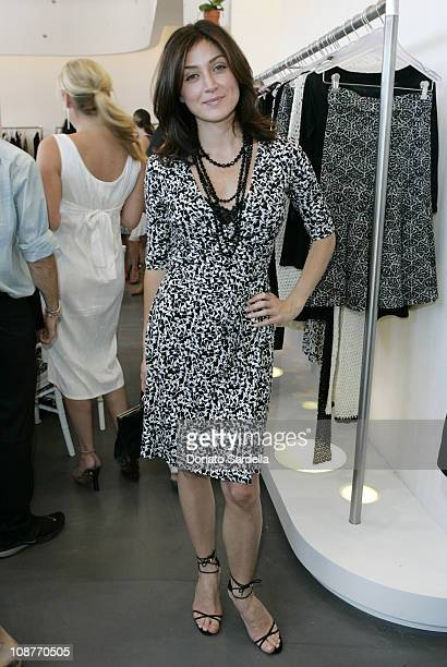 Sasha Alexander during Diane von Furstenberg Los Angeles Store Opening - Luncheon at Diane von Furstenberg Boutique in Los Angeles, California,...