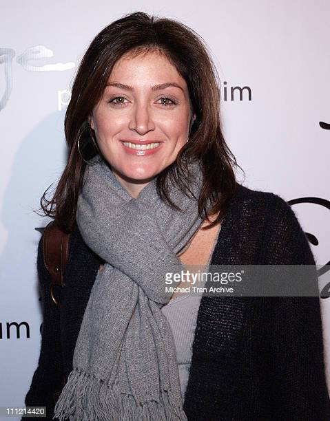 Sasha Alexander during Paige Denim Boutique Opening Arrivals at Paige Boutique in Beverly Hills California United States