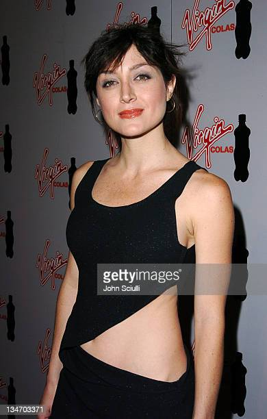 Sasha Alexander during Virgin Cola at the Post MTV Movie Awards Party Red Carpet at Fame @ Xes in Hollywood California United States