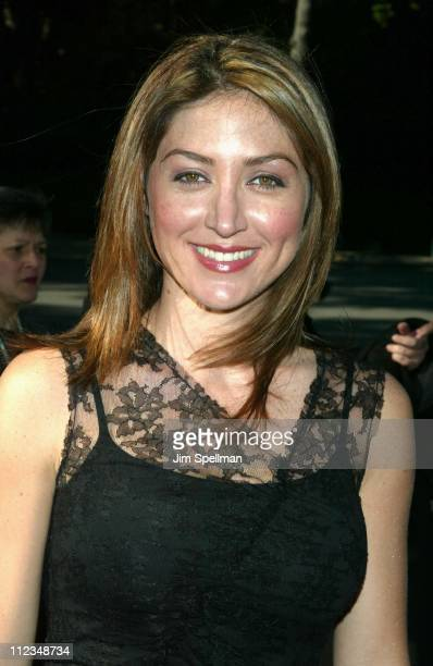 Sasha Alexander from 'Presidio Med' during CBS Television 20022003 Upfront Party at Tavern On the Green in New York City New York United States