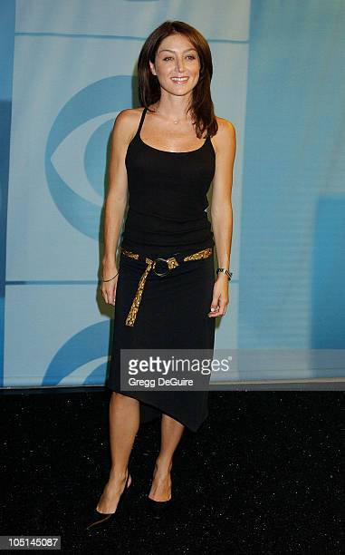 Sasha Alexander of Navy NCIS during 2003 TCA Summer Press Tour CBS Party in Hollywood California United States