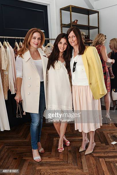 Sasha Alexander Shiri Appleby and Molly Isaksen attend Heart Annual Brunch With Stella McCartney on April 16 2014 in West Hollywood California