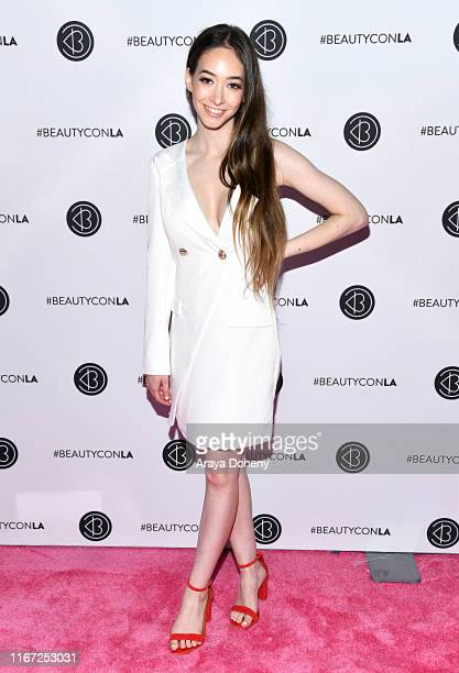 Sasha Anne attends Beautycon Festival Los Angeles 2019 at Los Angeles Convention Center on August 10 2019 in Los Angeles California