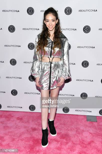 Sasha Anne attends Beautycon Festival Los Angeles 2019 at Los Angeles Convention Center on August 11 2019 in Los Angeles California