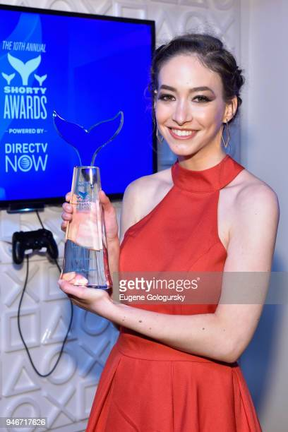 Sasha Anne attends the 10th Annual Shorty Awards at PlayStation Theater on April 15 2018 in New York City