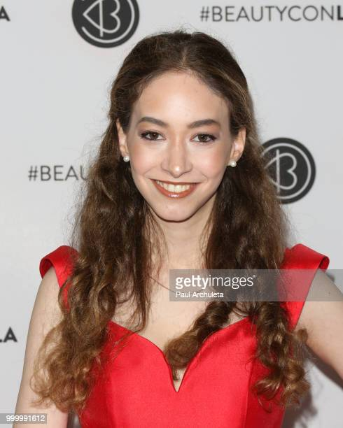 Sasha Anne attends the Beautycon Festival LA 2018 at Los Angeles Convention Center on July 15 2018 in Los Angeles California