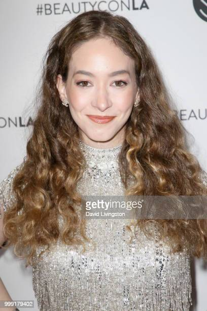 Sasha Anne attends the Beautycon Festival LA 2018 at the Los Angeles Convention Center on July 14 2018 in Los Angeles California