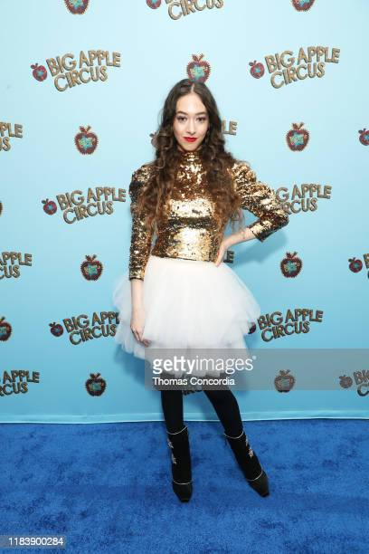 Sasha Anne attends the Opening Night of Big Apple Circus at Lincoln Center with Celebrity Ringmaster Neil Patrick Harris on October 27 2019 in New...
