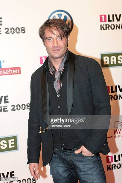 Sasha attends the ''1Live Krone'' awards on December 4 2008 in Bochum Germany