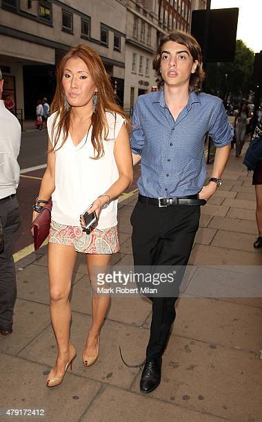 Sasha Bailey attending the Tiffany Co Exhibition 'Fifth And 57th' Opening Night on July 1 2015 in London England