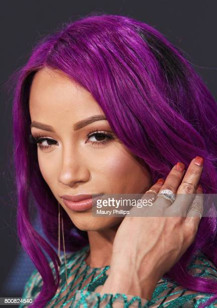 Sasha Banks at the 2017 BET Awards at Microsoft Square on June 25 2017 in Los Angeles California
