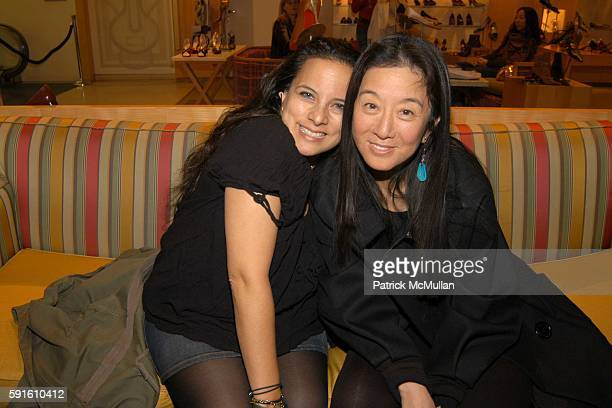 Sasha Charnin Morrison and Vera Wang attend Candy Pratts Price party for Manolo Blahnik and Eric Boman and their new book BLAHNIK BY BOMAN at Barneys...