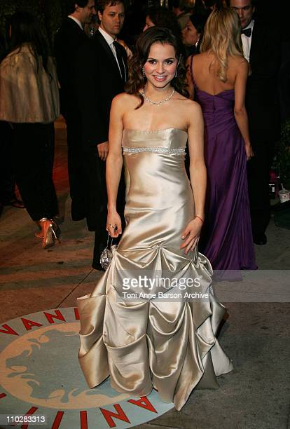 Sasha Cohen during 2006 Vanity Fair Oscar Party Hosted by Graydon Carter Arrivals at Morton's in West Hollywood California United States