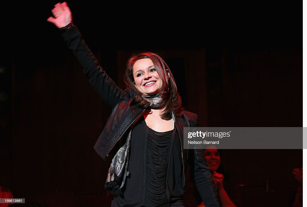 Sasha Cohen onstage at LAByrinth Theater Company Celebrity Charades 2013 Benefit Gala at Capitale on January 14, 2013 in New York City.