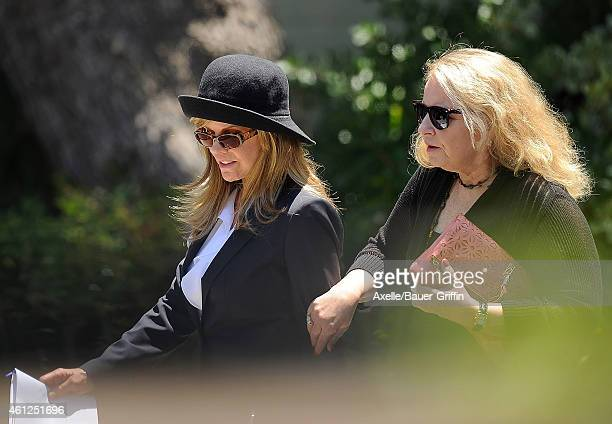 Sasha Czack is seen attending a memorial service for her son Sage StalloneJuly 21 2012Job 120721A1wwwbauergriffincomwwwbauergriffinonlinecom on July...