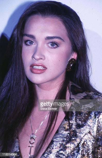 Sasha Denni Penthouse Pet of the Year during Penthouse Pet Video Release Party 1994 at Club USA in New York City New York United States