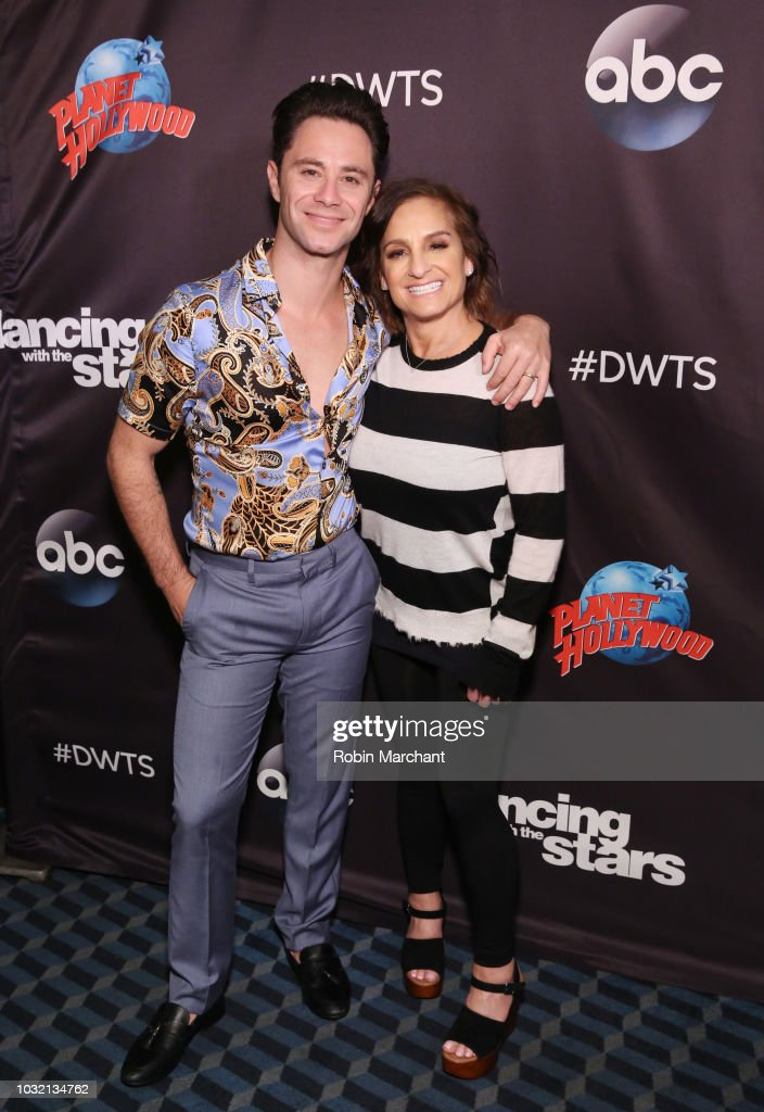 Dancing With The Stars Season 27 Cast Reveal Red Carpet At Planet Hollywood Times Square : News Photo