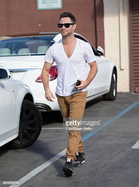 Sasha Farber is seen in Hollywood on February 28, 2015 in Los Angeles, California.