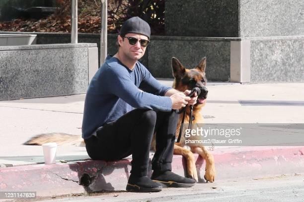Sasha Farber is seen on February 13, 2021 in Los Angeles, California.