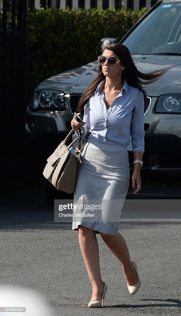 Sasha Gale Rory Mcilroy's new girlfriend is spotted out and about in Belfast on July 25 2014 in Belfast Northern Ireland