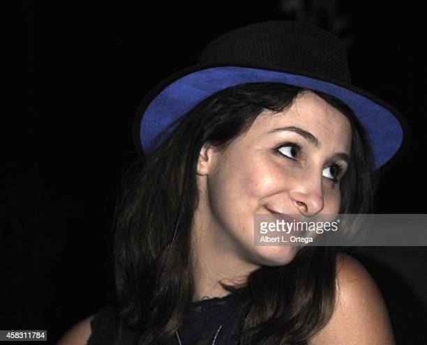 Sasha Glasser attends the Season Finale For SyFy Channel's 'Faceoff' Season 7 Viewing Party held at The Parlor on October 28 2014 in West Hollywood...