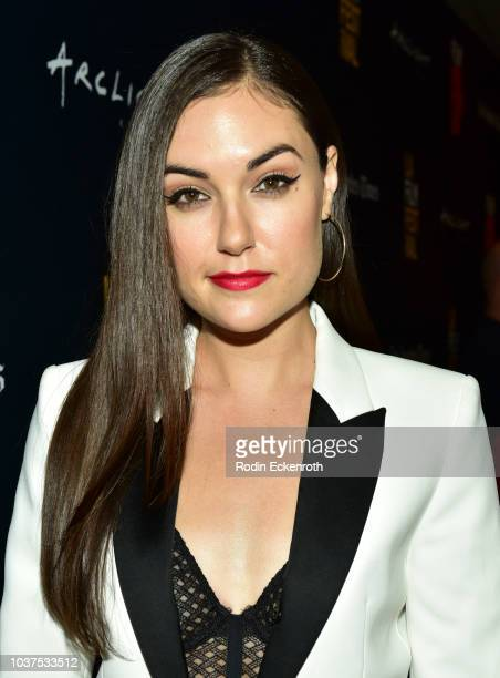 Sasha Grey arrives at the 2018 LA Film Festival Gala screening of The Body at Writers Guild Theater on September 21 2018 in Beverly Hills California