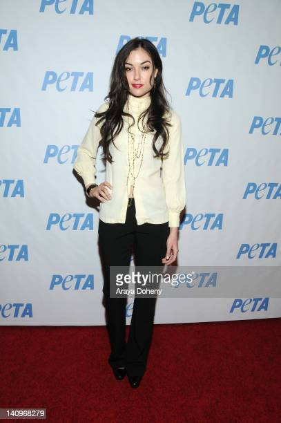 Sasha Grey arrives at the grand opening of the new PETA building named in Bob Barker's honor at The Bob Barker Building on March 8 2012 in Los...