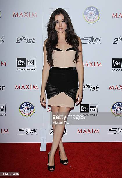 Sasha Grey arrives at the Maxim Hot 100 Party held at Eden on May 11 2011 in Hollywood California