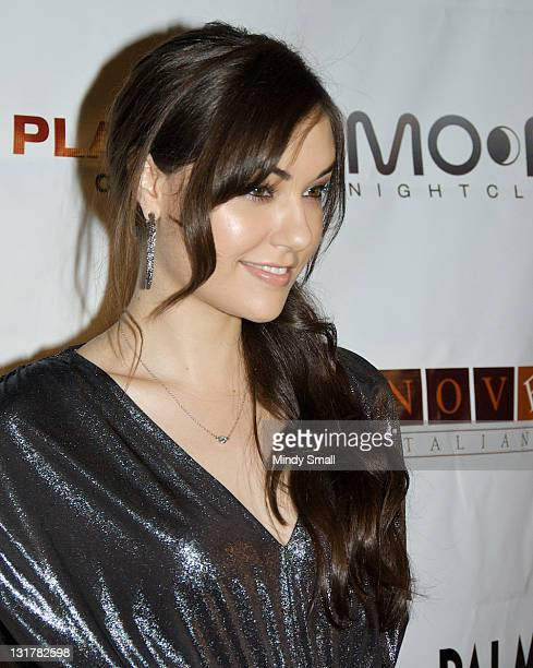 Sasha Grey attends 2010 Playboy October Issue Launch Party at The Playboy Club in The Palms Casino Resort on October 9 2010 in Las Vegas Nevada