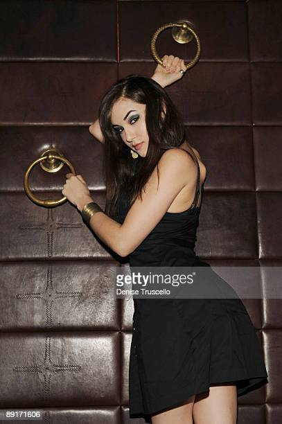 Sasha Grey attends Lavo nightclub at The Palazzo in The Venetian Hotel and Casino Resort on May 29 2009 in Las Vegas Nevada