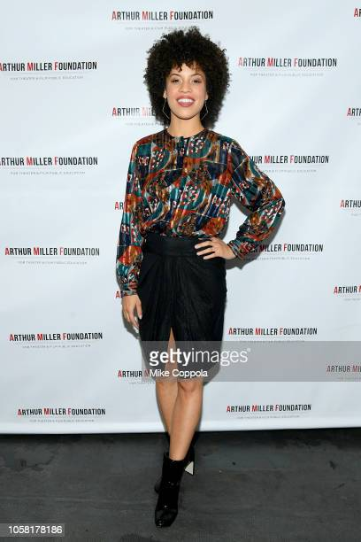 Sasha Hutchings attends the 2018 Arthur Miller Foundation Honors at City Winery on October 22 2018 in New York City