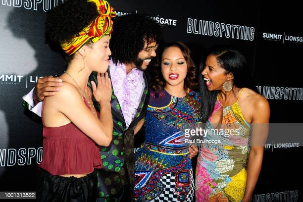 Sasha Hutchings Daveed Diggs Jasmine Cephas Jones and Renee Elise Goldsberry attend as Lionsgate with the Cinema Society host a screening of...