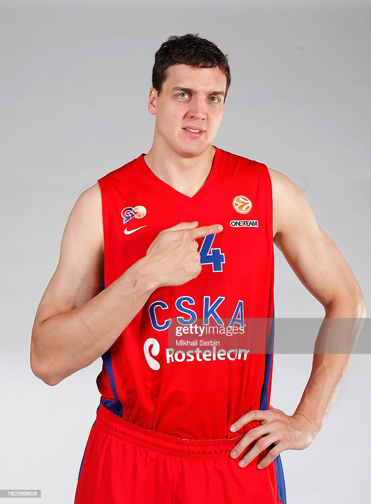 CSKA Moscow - 2013/14 Turkish Airlines Euroleague Basketball Media day