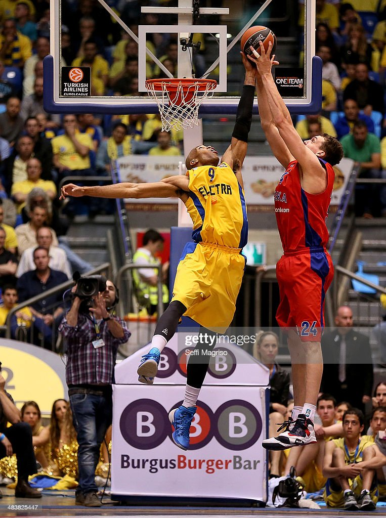 Maccabi Electra Tel Aviv v CSKA Moscow - Turkish Airlines Euroleague Top 16