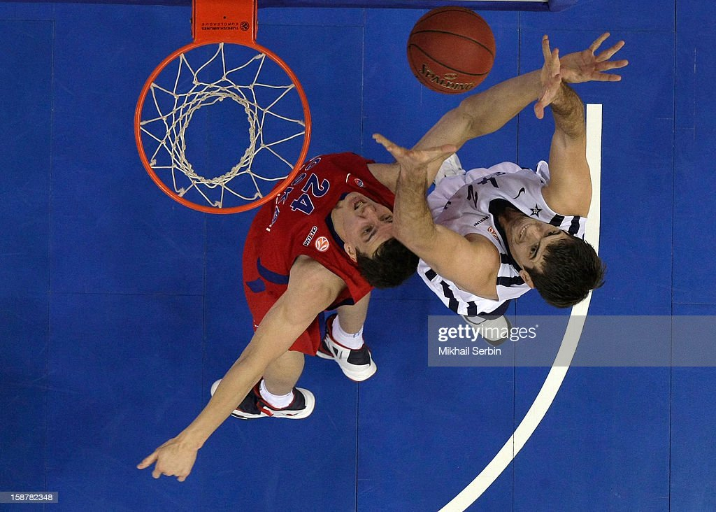 CSKA Moscow v Anadolu EFES Istanbul - Turkish Airlines Euroleague