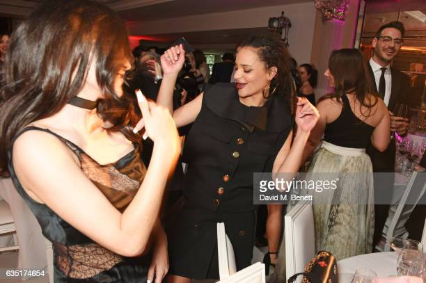 Sasha Lane attends the Elle Style Awards 2017 after party on February 13 2017 in London England