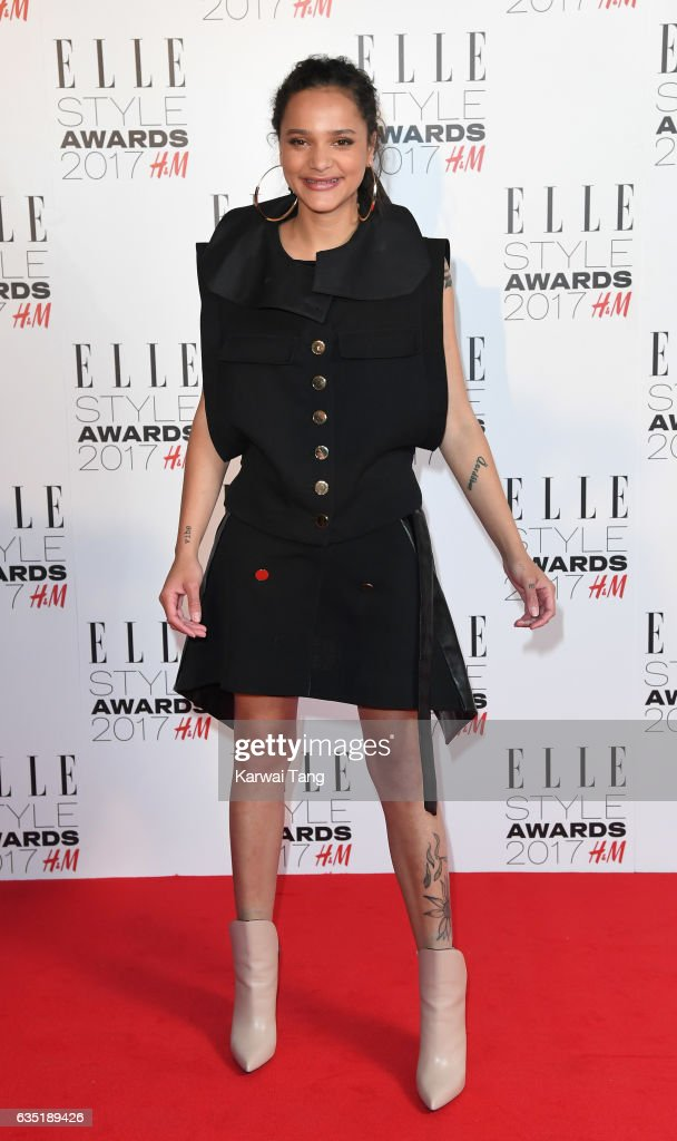 Sasha Lane attends the Elle Style Awards 2017 on February 13, 2017 in London, England.