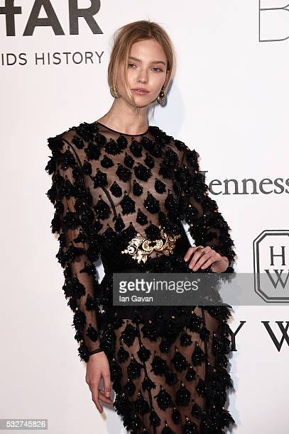 Sasha Luss arrives at amfAR's 23rd Cinema Against AIDS Gala at Hotel du CapEdenRoc on May 19 2016 in Cap d'Antibes France