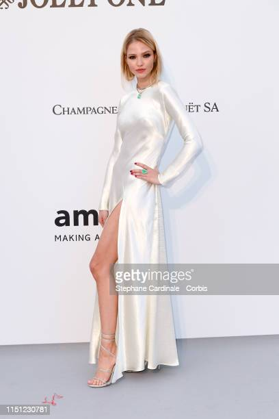 Sasha Luss attends the amfAR Cannes Gala 2019>> at Hotel du CapEdenRoc on May 23 2019 in Cap d'Antibes France