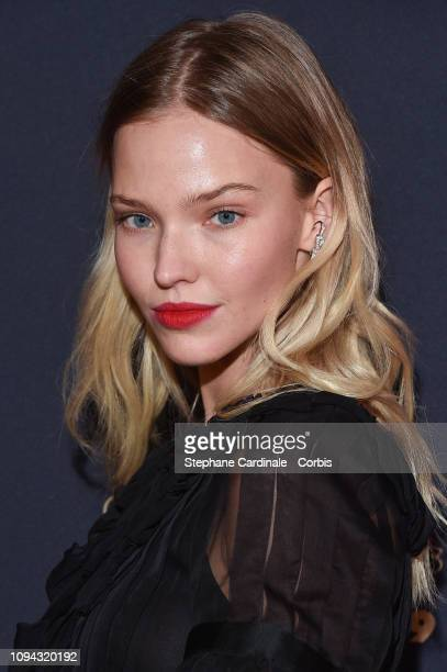 Sasha Luss attends the 'CesarRevelations 2019' at Le Petit Palais on January 14 2019 in Paris France