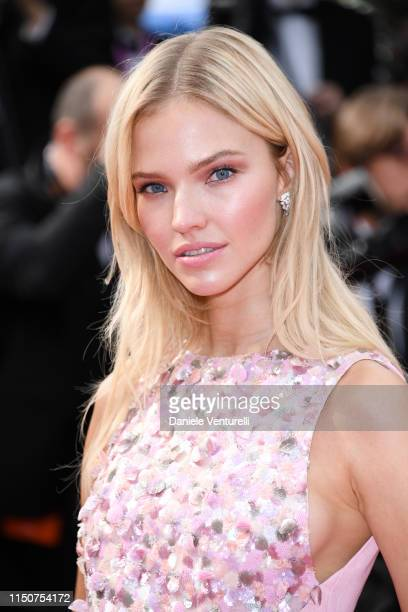 Sasha Luss attends the screening of Once Upon A Time In Hollywood during the 72nd annual Cannes Film Festival on May 21 2019 in Cannes France