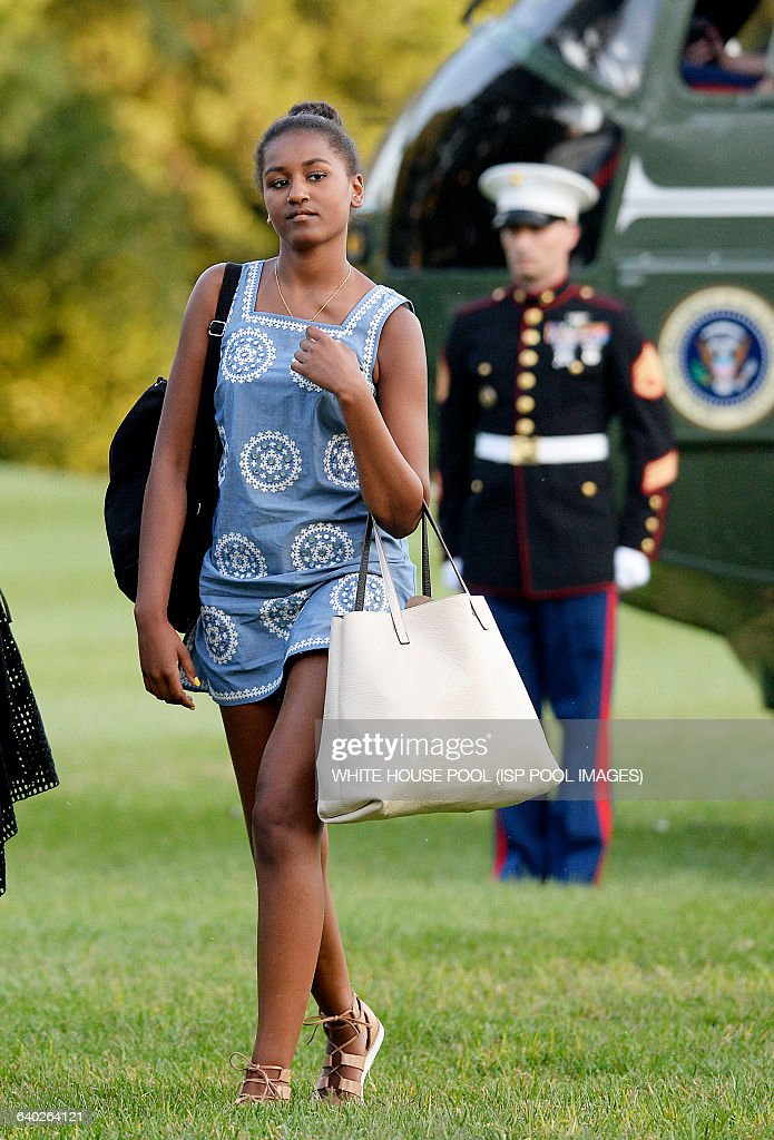 The First Family retun to the White House - DC : News Photo